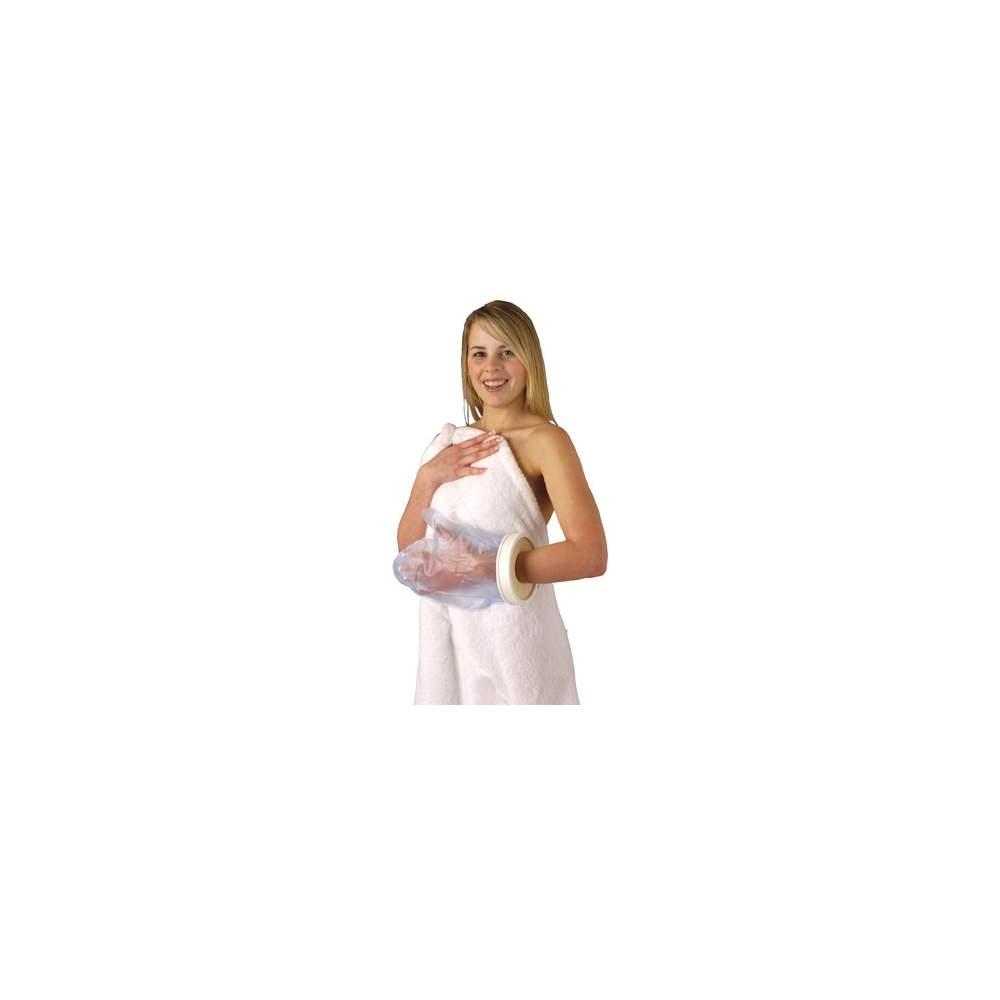 Copre semplice e confortevole a mano getta adulti, lunghezza 305 mm.