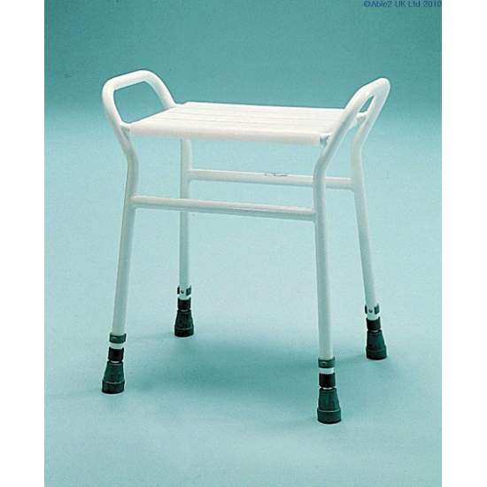 Rectangular shower stool - Rectangular shower stool