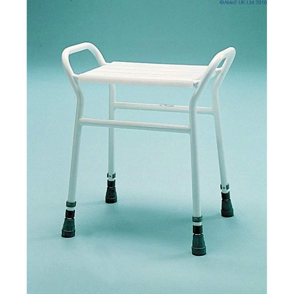 Rectangular shower stool - Rectangular shower stool