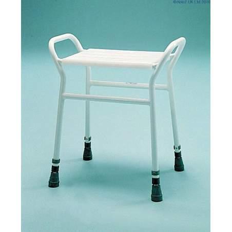 Rectangular shower stool