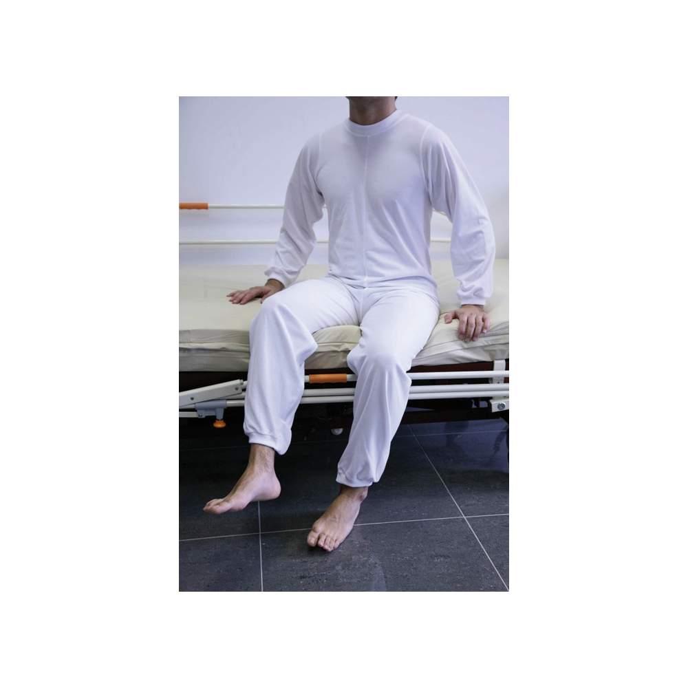 PIJAMA PARA INCONTINENCIA SENIOR RC001 - RC001 senior incontinence Pajamas
