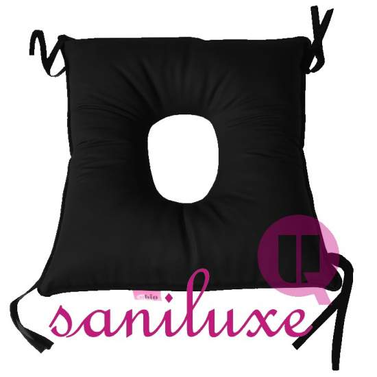 WITH HOLE SQUARE CUSHION 41X41 SANILUXE UBIO - Specially designed to prevent decubitus ulcers.