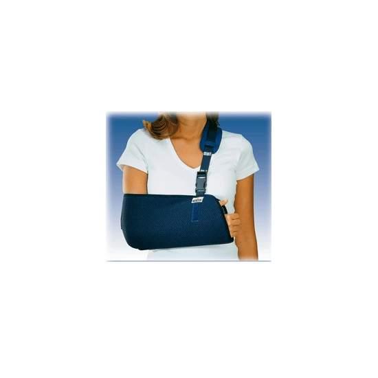 CABESTRILLO INMOVILIZADOR ORLIMAN - Fabricado con tejido transpirable de panal en forma de bolsa para codoy antebrazo.