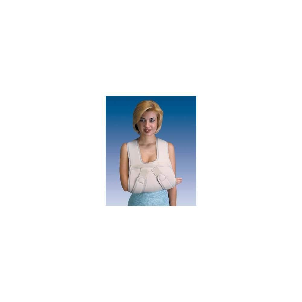 RENFORCÉ ANTIDÉMARRAGE SLING Orliman - Support en forme de tablier de velours à l'avant-bras.