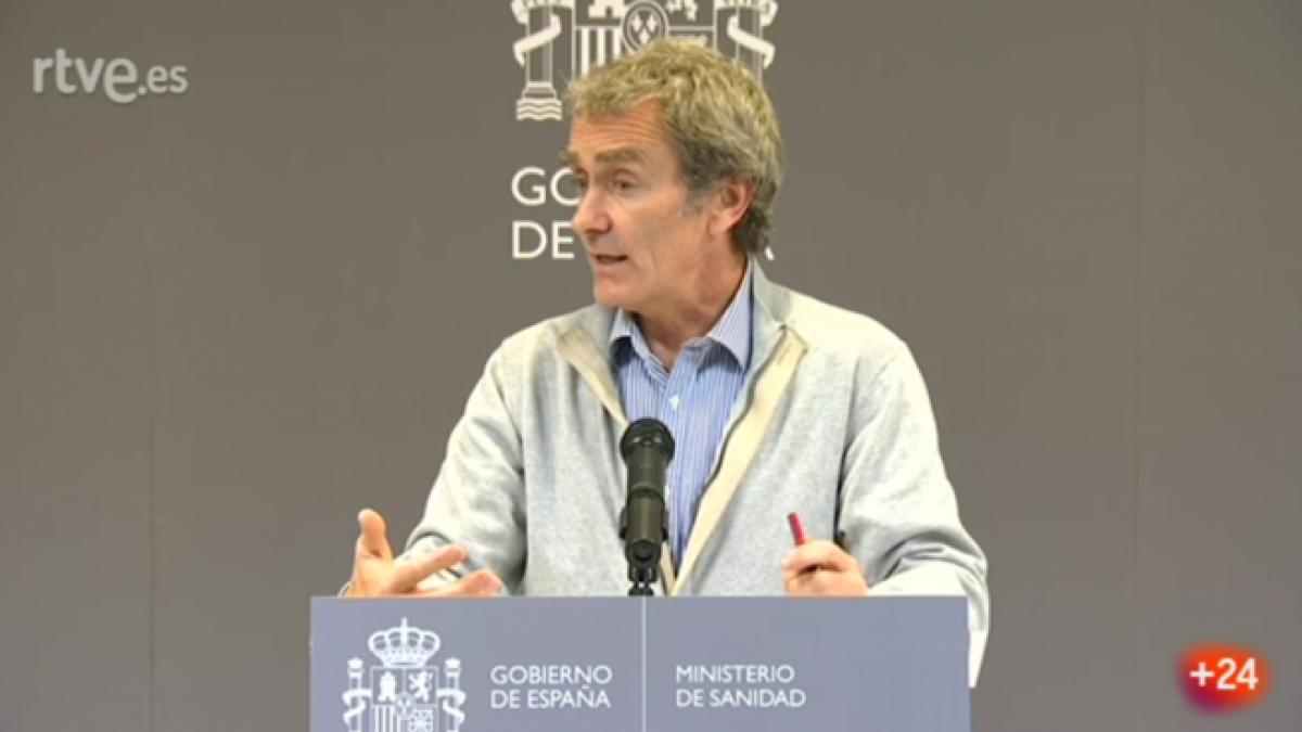 Fernando Simón: «España no va a tener más allá de algún caso diagnosticado»