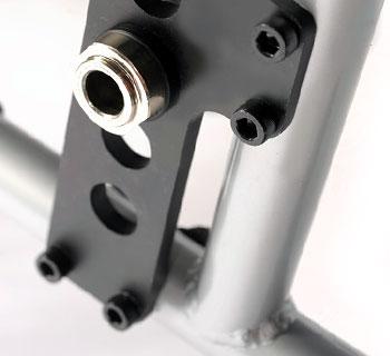Silla de ruedas resistente