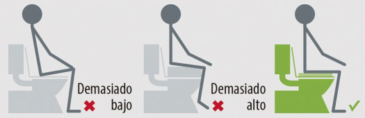 Elevador de WC económico de 10 cm de altura