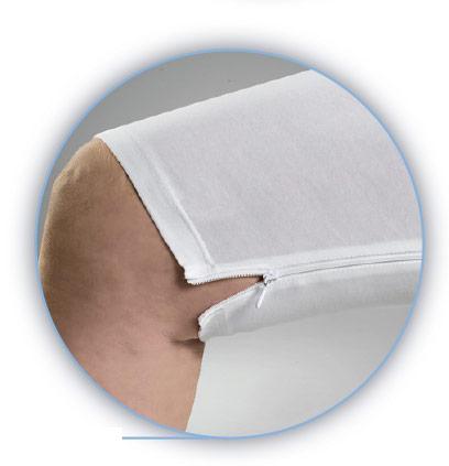 Ropa interior de fácil acceso a los productos para incontinencia