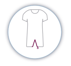 Pijamas manga corta y larga incontinencia