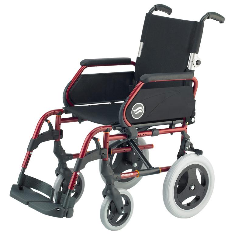 Silla Breezy 250 respaldo partido ruedas pequeñas