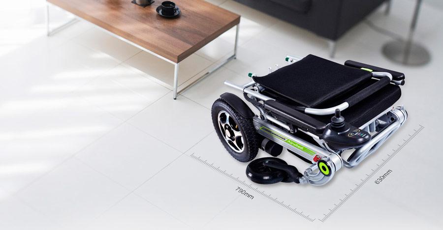 Silla de ruedas plegable H3