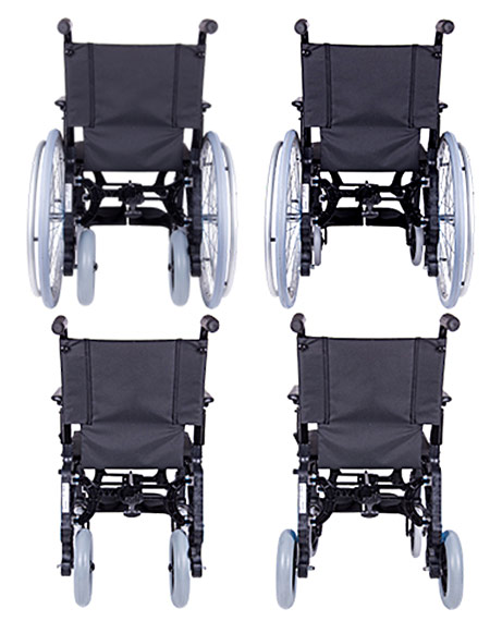 silla de ruedas Basic-Dúo