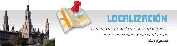 Localización de Ortopedia Silvio en Zaragoza
