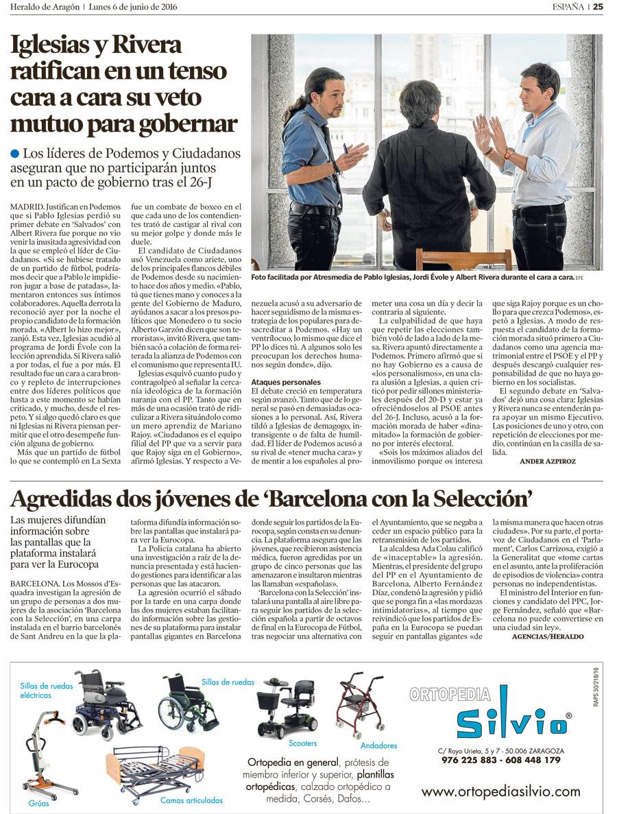 Campaña en Heraldo de Aragón