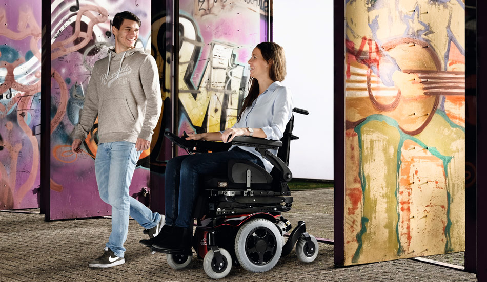 Silla Salsa M2 mini silla de ruedas eléctrica