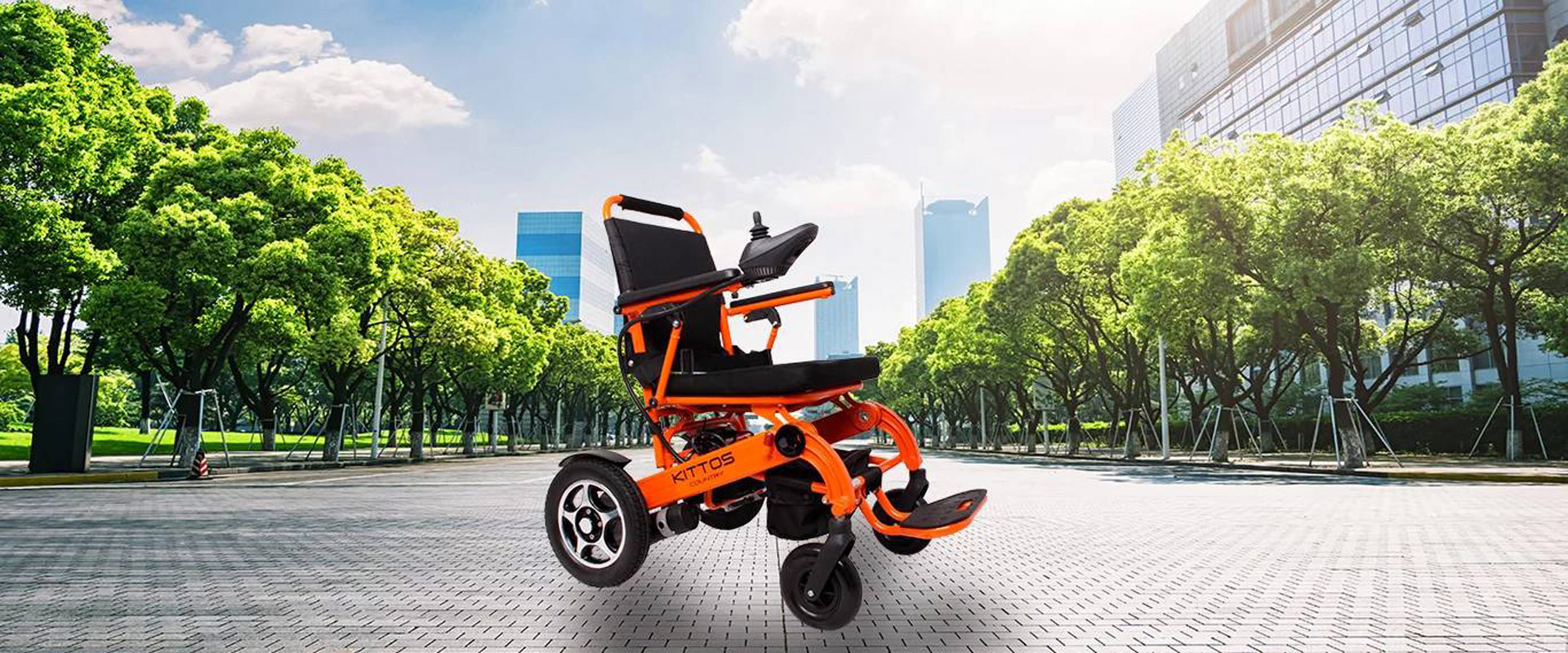 Silla de ruedas e kittos con plegado autom tico - Tamano silla de ruedas ...