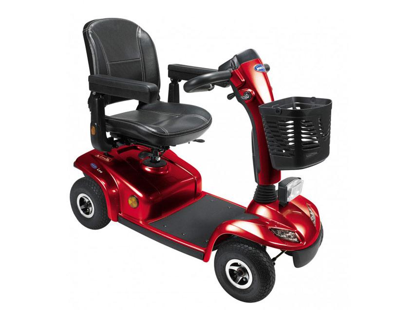 Scooter Leo de Invacare 4 ruedas