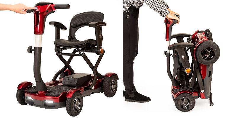 I-laser scooter