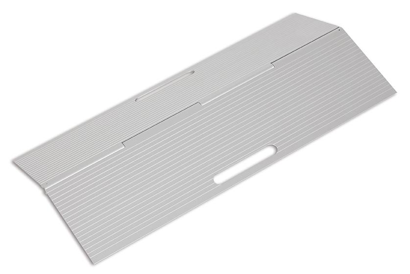 Rampa de aluminio portatil