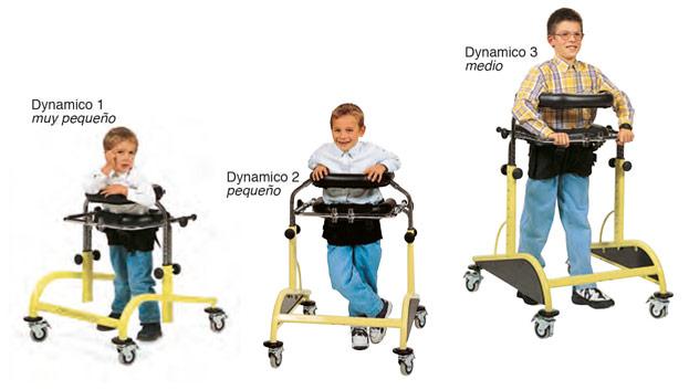 Andador caminador y rehabilitador de la marcha Dynamico