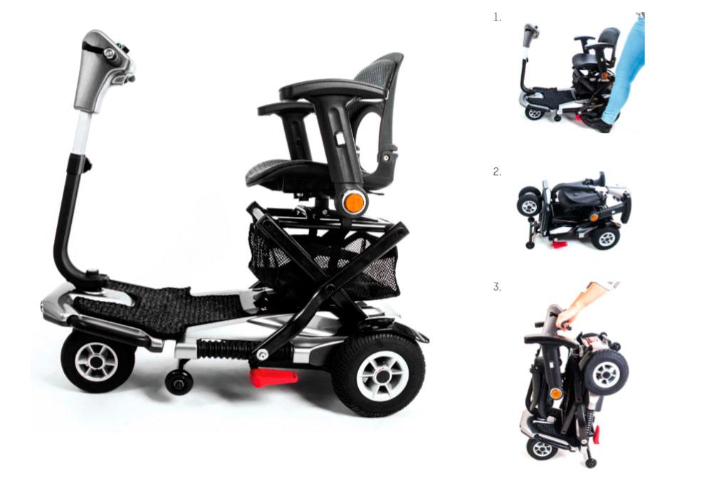 I-Elite automatic folding scooter