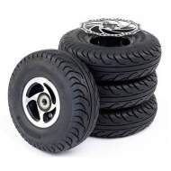 Solid tires kit (set of 4)