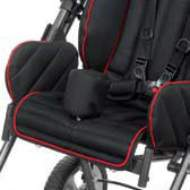 Wedge abductor chair color black