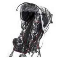 Case complete rain hood