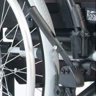 Foldable brake extension