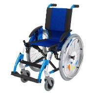 Silla de ruedas Line Infantil Azul