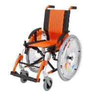 Silla de ruedas Line Infantil Naranja