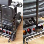 Crutches carrier + adapter